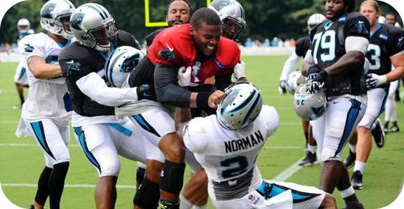 NFL Camp Fights